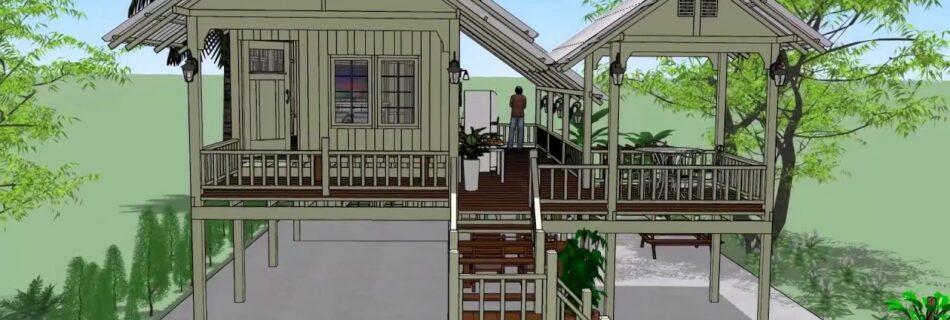 บ้านยกสูงสวยๆ