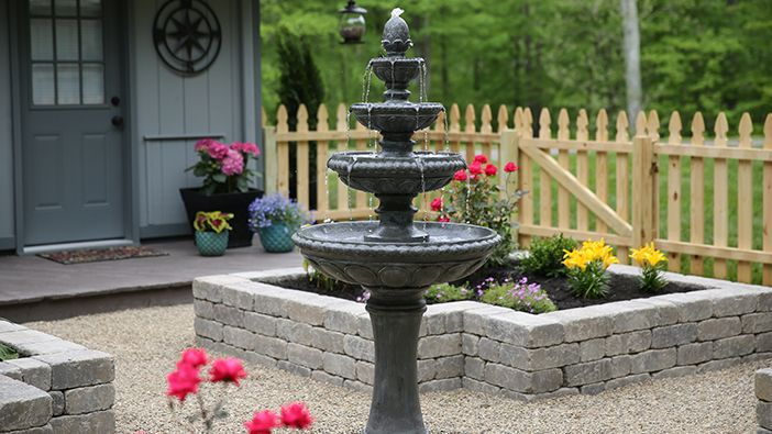English Garden Guidelines Fountains