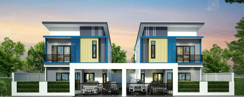 Introducing a twin house