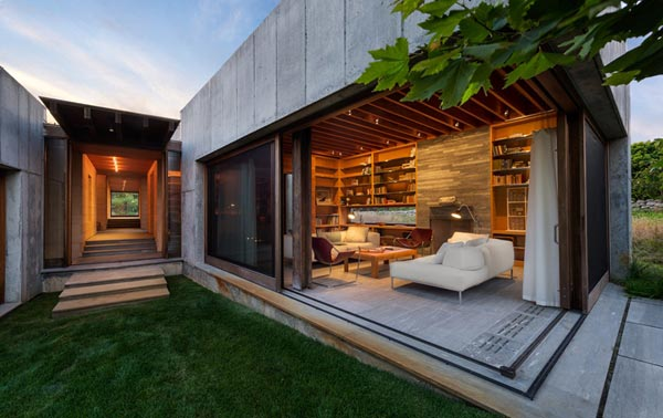 A guide to the bare cement house