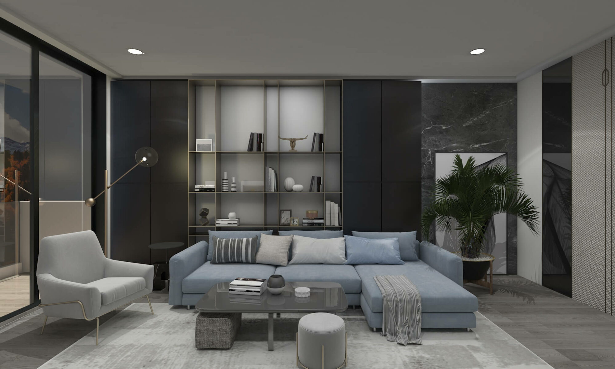 composing tips contemporary style house