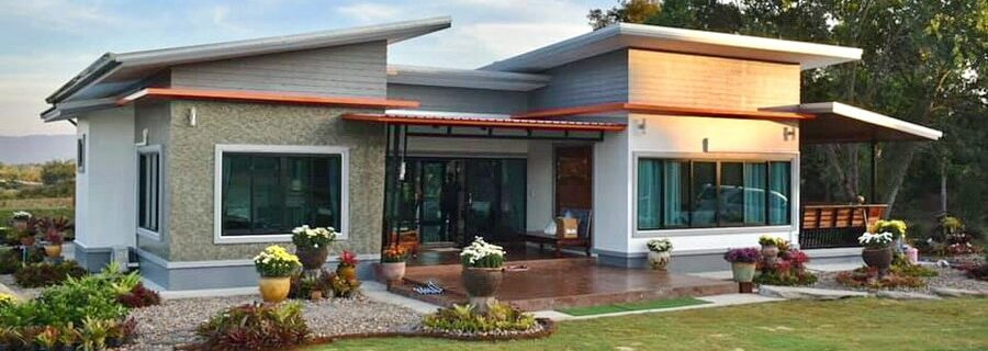 Introducing modern garden house designs