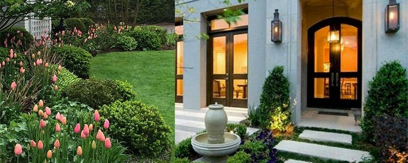 Guidelines for landscaping in front of the house, Feng Shui