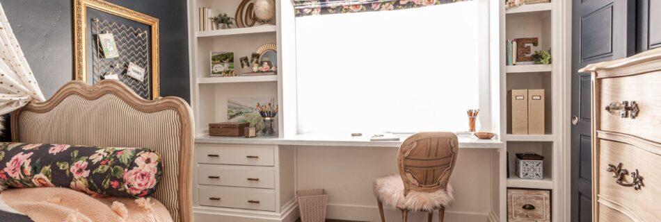 bedroom built-in ideas