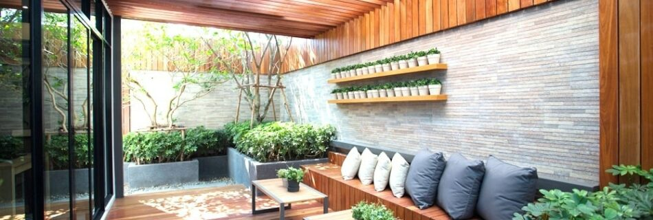 Introducing modern house walls